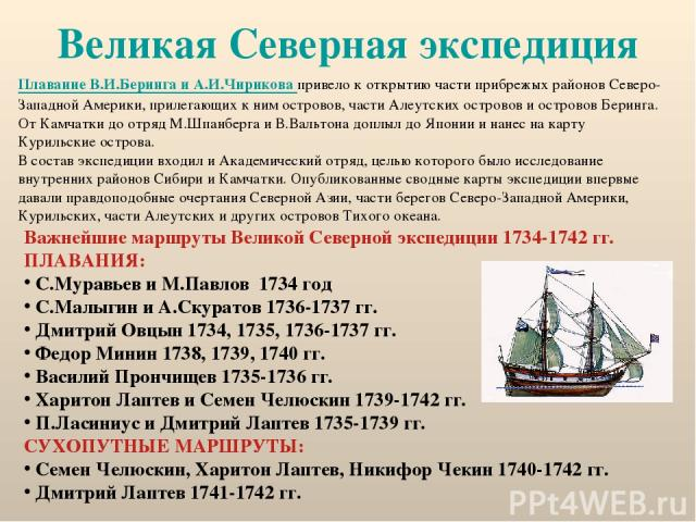 Презентация на тему великая северная экспедиция