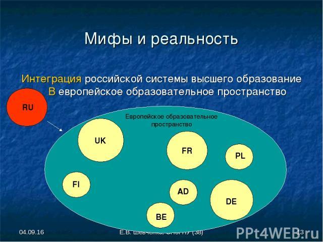 интеграция и демократизация болонского процесса