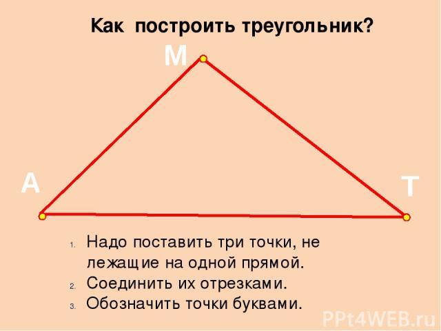 Как сделать три точки