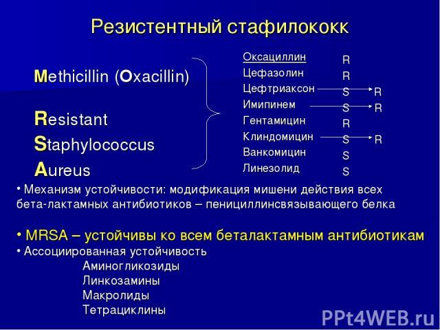 Таблица 3 чувствительность к антибиотикам стафилококков, устойчивых к прополису