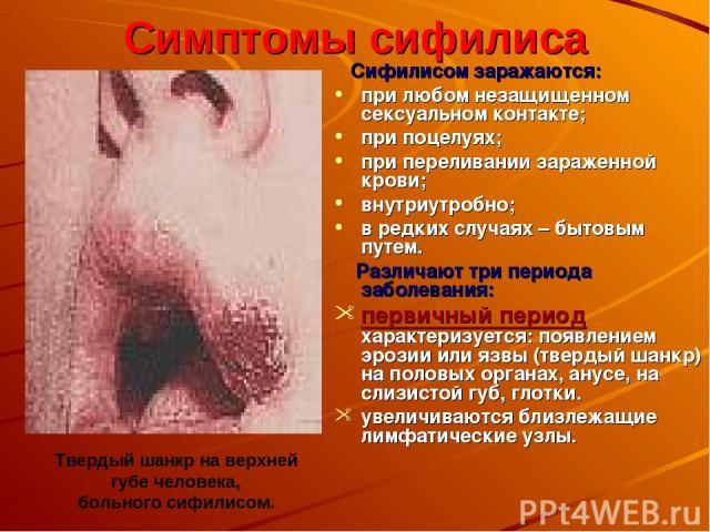 """Презентация на тему """"Половая болезнь"""" - скачать презентации по Медицине"""