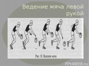 Ведение мяча левой рукой