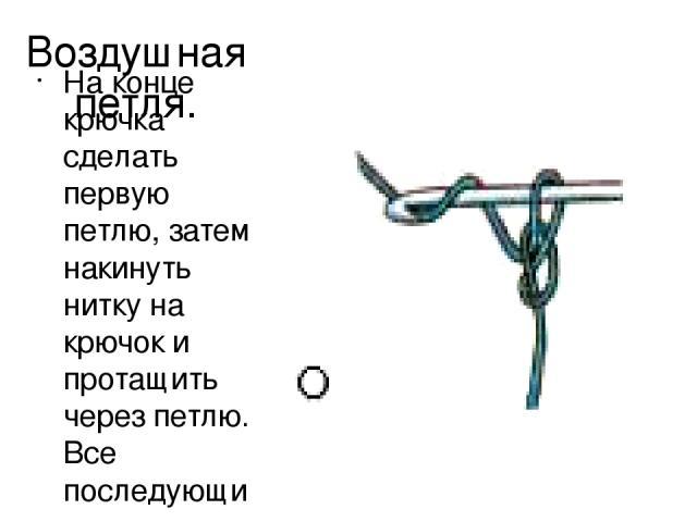 Как делать петлю для вязания крючком 39