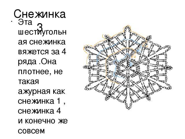 Как сделать шестиугольная снежинка