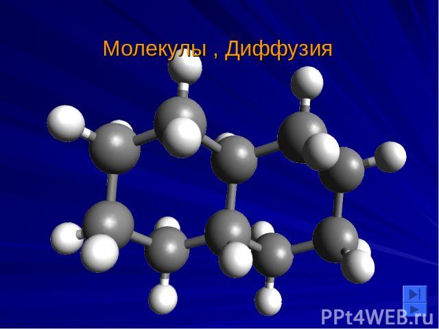 Молекулы , Диффузия