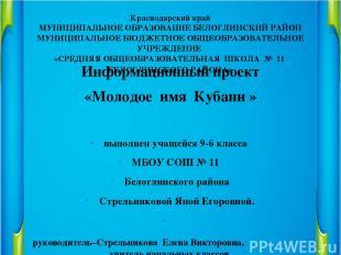 Краснодарский край МУНИЦИПАЛЬНОЕ ОБРАЗОВАНИЕ БЕЛОГЛИНСКИЙ РАЙОН МУНИЦИПАЛЬНОЕ БЮ
