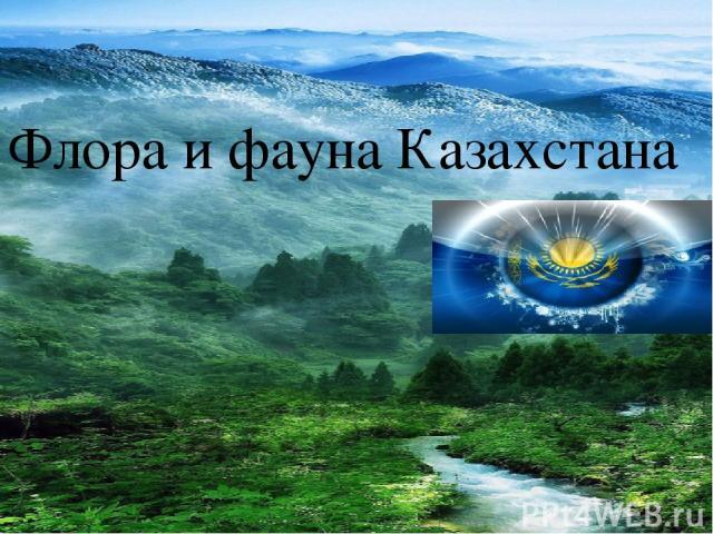 Флора и фауна Казахстана