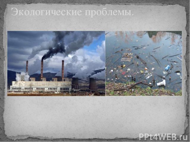 Экологические проблемы.