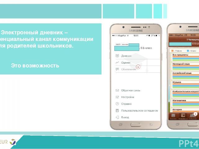PRIVIVKA New version Электронный дневник – 100% потенциальный канал коммуникации для родителей школьников. Это возможность Задать все необходимые уточняющие вопросы Получать информацию о прививках от школьной медсестры