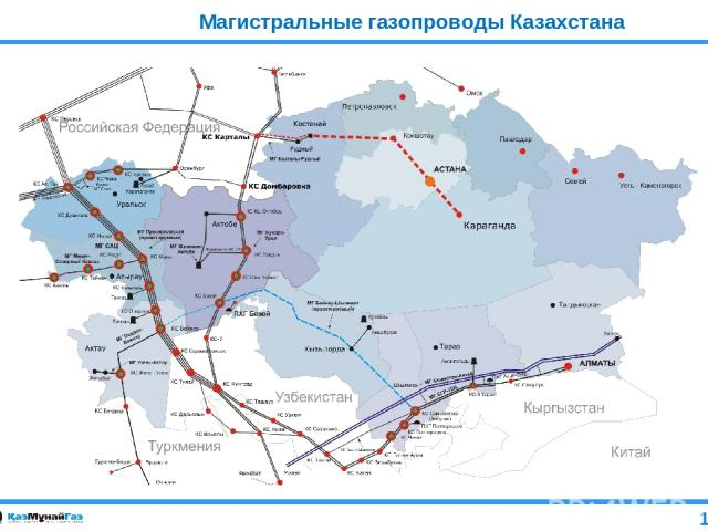 Магистральные газопроводы Казахстана 11