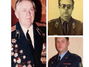 Династия Клениных продолжили мой дед Кленин Геннадий Иванович, и мой отец Кленин