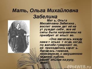 Впечатления о детстве Михаил Евграфович не любил вспоминать о своем детстве, а к