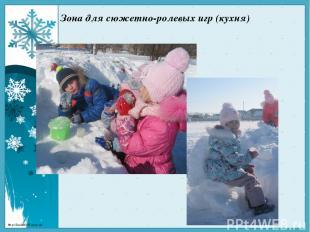 Зона для сюжетно-ролевых игр (кухня) http://linda6035.ucoz.ru/
