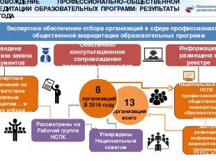 Экспертное обеспечение отбора организаций в сфере профессионально – общественной