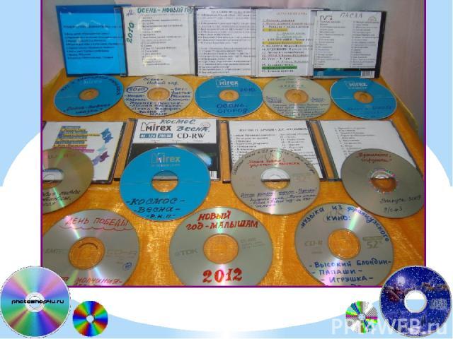 Безграничные возможности дают ИКТ для пополнения нашей фонотеки. Любые музыкальные произведения для слушания, движения, оформления праздников и досугов, звуки природы, звуки появления персонажей мы находим в сети Интернет, записываем на диски и испо…
