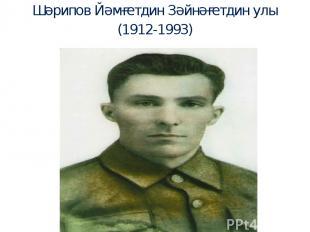 Шәрипов Йәмғетдин Зәйнәғетдин улы (1912-1993)