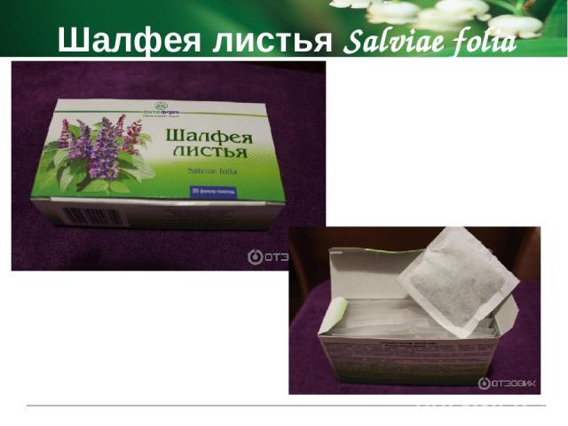 Шалфея листья Salviae folia Показания к применению при кровотечениях для полосканий при острых ангинах и хронических тонзиллитах