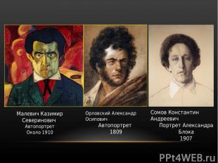 Малевич Казимир Северинович Автопортрет Около 1910 Орловский Александр Осипович