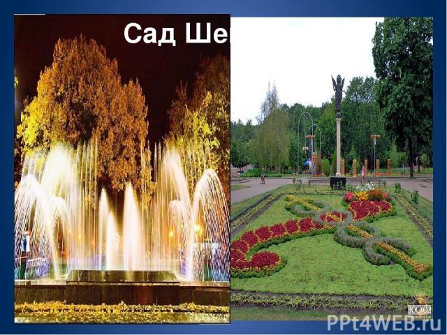 Сад Шевченко