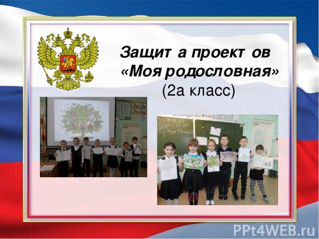 Защита проектов «Моя родословная» (2а класс)