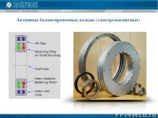 Активные балансировочные кольца (электромагнитные)