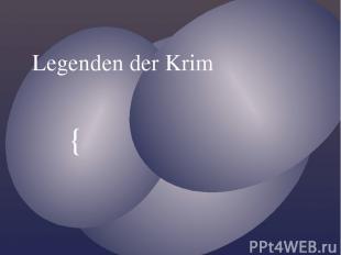 Legenden der Krim {