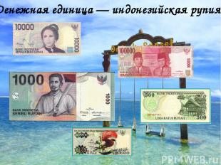 Денежная единица — индонезийская рупия.
