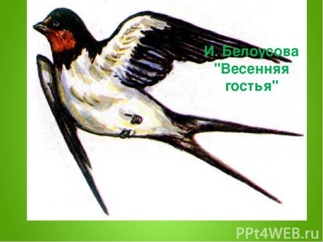 И. Белоусова