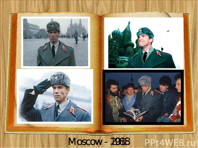 Moscow - 2015 Moscow - 1988