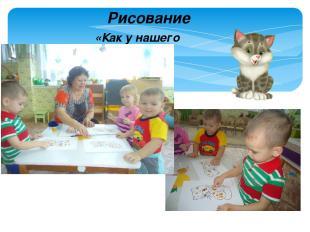 Рисование «Как у нашего кота»
