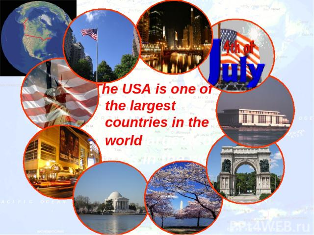The USA is one of the largest countries in the worldlargestcountries in the world
