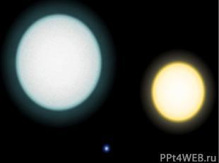 «Новые» звезды Механизм вспышки :: Часть 2 Белые карлики представляют собой «выг