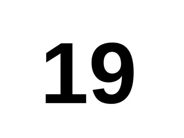 19 19.