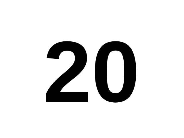 20 20.