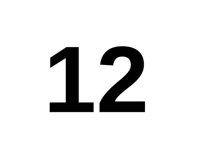 12 12.
