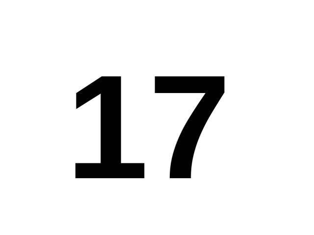 17 17.