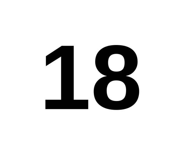 18 18.