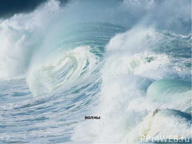 волны Волны.