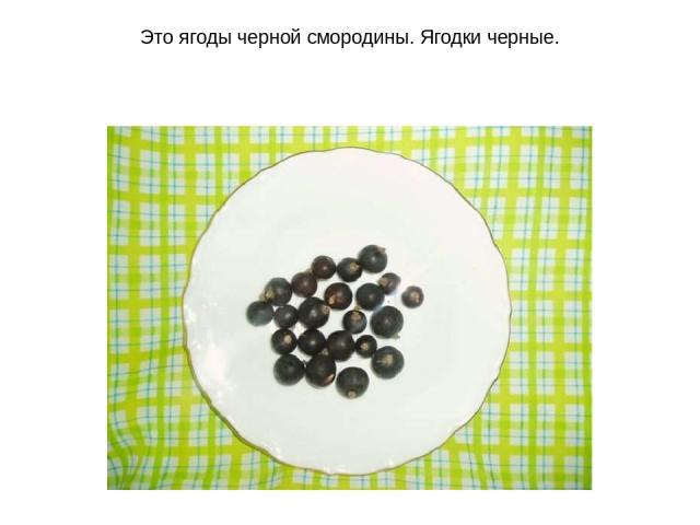 Это ягоды черной смородины. Ягодки черные.