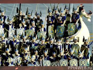 В 9 веке на Шетландские острова, что рядом с побережьем Шотландии, напали викинг