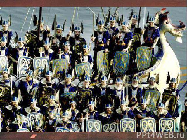 В 9 веке на Шетландские острова, что рядом с побережьем Шотландии, напали викинги. Это событие отмечают каждую зиму жители города Лервик (Lerwick), стоящего на одном из островов. Они делают модель корабля викингов (с драконом на носу), наряжаются в …