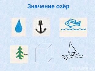 Значение озёр