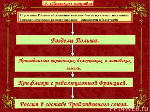 Стремление России к объединению в составе России всех земель населенных близкоро