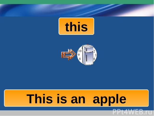 www.themegallery.com Company Logo this This is a fridge This is a clock This is an apple Company Logo