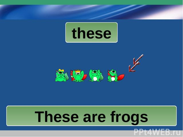 www.themegallery.com Company Logo these These are cats These are frogs These are frogs Company Logo