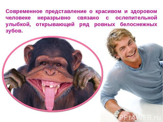 Современное представление о красивом и здоровом человеке неразрывно связано с ослепительной улыбкой, открывающей ряд ровных белоснежных зубов.