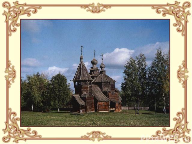 Вознесенская церковь. Село Кушерка. Архангельская область. 1669 г.