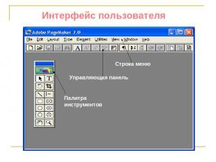 Интерфейс пользователя