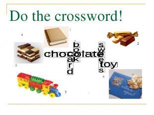 Do the crossword!