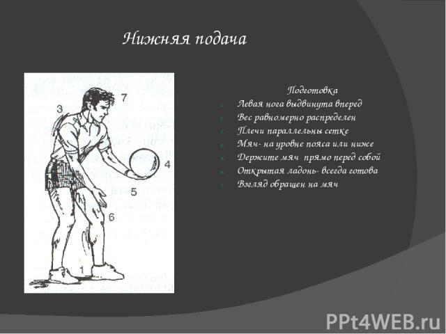 Ошибки Как их исправить 1. Мяч летит скорее вверх, чем вперед, и не перелетает через сетку. 1. Держитемяч на уровне пояса или даже ниже. Бейте под центр мяча и выносите руку вперед, по направлению к сетке. Переносите вес на переднюю ногу. 2. Удар по…